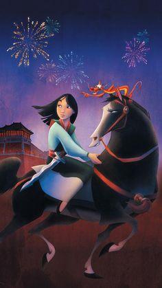 Disney is set to make a live action film out of another animated classic, Mulan. Walt Disney, Disney Magic, Disney Pixar, Disney Fan Art, Disney Love, Princesa Mulan, Pinturas Disney, Keys Art, Movie Wallpapers