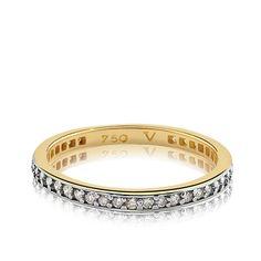 5f2ae9b59e6f3 Meia Aliança Ouro Amarelo e Diamantes