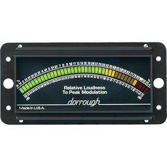 Dorrough Loudness Meter w/Percent Modulation