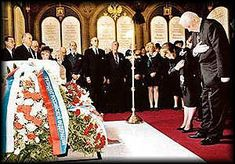 Exactly 80 years after their execution by bolshevicks in Ipatiev house, on July 17 of 1998, the last Czar of Russia and his family were buried in the crypt of St Petersburg's St Peter and Paul Cathedral.