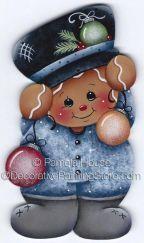 Ginger Ornaments ePattern by Pamela House - PDF DOWNLOAD
