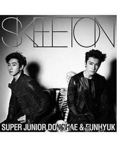 K2POP - SUPER JUNIOR DONGHAE & EUNHYUK - SKELETON (E.L.F-JAPAN LIMITED ALBUM) (CD VER)