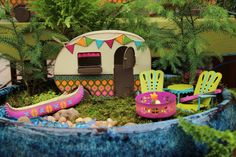 Fairy camping