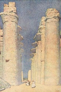Guerin, Jules (1866-1946) - Egypt and its Monuments 1908, The Great Temple of Karnak