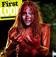 Chloe Moretz: 'Carrie' Stills – First Look Pics! Chloe Moretz is bloody and terrified in this brand new still from her upcoming horror flick Carrie! Carrie Movie, Carrie 2013, Carrie White, Mikey, The Voice, Today In History, Scream Queens, Film Aesthetic, Cartoon Memes