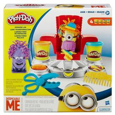 Sometimes we all feel like just one in a Minion but the Play-Doh Disguise Lab is here to change that! Create crazy disguises for your Minions by pressing out hilarious hairstyles and customizing with. Minion Toy, Despicable Minions, My Minion, Minion Party, Gifts For Boys, Toys For Girls, Kids Toys, Baby Toys, Toddler Christmas Gifts