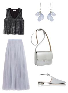 """Summer outing"" by nkotovic on Polyvore featuring Needle & Thread, MANGO, Barneys New York, Kate Sheridan and Ten Thousand Things"