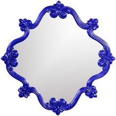 I pinned this Oliver Wall Mirror in Royal Blue from the Howard Elliott event at Joss and Main!