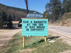 """These Pun-Tastic Signs Outside Of A Community Center In Colorado Are The Pinnacle Of Dad Joke Greatness - - """"For chemists alcohol isn't a problem, it's a solution. Corny Jokes, Funny Puns, Funny Quotes, Funny Stuff, Hilarious Sayings, Hilarious Animals, Tgif Funny, Funny Animal, Funny Humor"""