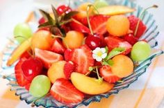 Summer is when fruit is at its ripe juiciest, making fruit salads a winner at every meal. This vegan salad recipe boasts color, natural sweetness, and antioxidant-packed nutrition that kids and adults alike will find hard to resist.