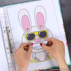 Printable Easter Quiet Book - Activity Book for Pre-K and K - Easy Peasy and Fun Activities For 2 Year Olds, Toddler Learning Activities, Preschool Learning Activities, Preschool Lessons, Fish Crafts Preschool, Busy Book, Kids Education, Kindergarten, Toddler Activities