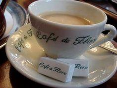 ♔audreylovesparis — Café de Flore, Paris