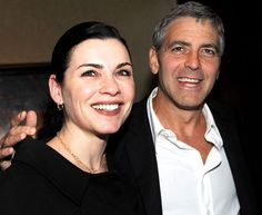 '90s TV Stars: Then & Now: George Clooney and Julianna Margulies: Now (Us weekly)
