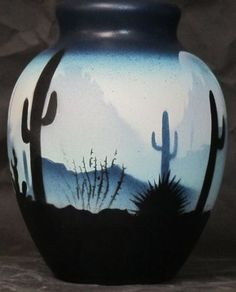 "Sonora Desert Pottery - Montezuma Jar. 4-1/ 2"" x 6"". Authentic Native American Pottery hand painted by Navajo and Ute Indian Artists. Certificate of Authenticity with each piece. Southwest Pottery. Sonoran Desert.  $34.95"