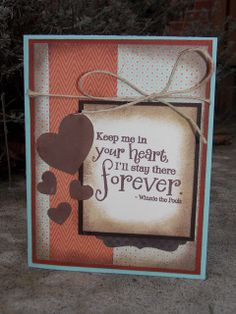 Card by Jule S. using Hundred Hearts from Verve.  #vervestamps