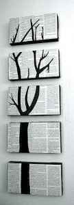 Old Book Page Crafts