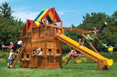 90B King Kong Clubhouse Pkg II with Lower Level Playhouse