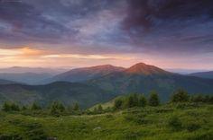 The Hutsul Alps, Zakarpattia region, Ukraine, Photos by: Alexander Kotenko.