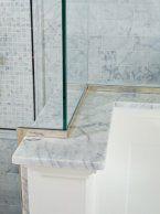 Marble Shower Ledge