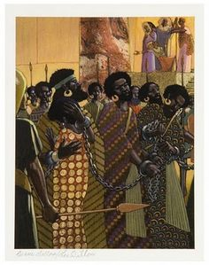 Aida illustrations by Leo & Diane Dillon
