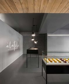 Travel // on my list to visit this Patisserie A La Folie, a contemporary pastry shop in Montreal Canada // designed by Atelier Moderno & Anne Sophie Goneau