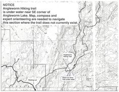 Boundary Waters Blogger: Angleworm Hiking Trail in the BWCAW is Partially Flooded