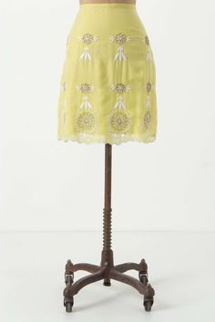 Junin Embroidered Skirt | Anthropologie.eu