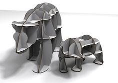 BEAR  / CNC ROUTER / 3D DESIGN / 유창석 www.joinxstudio.com                                                                                                                                                                                 More