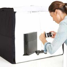 Joann Fabrics, Studio Photo Portable, Photo Light Box, Photo Studio Lighting, Fill Light, White Backdrop, Backdrop Ideas, Booth Ideas, Luz Led