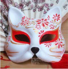 【楽天市場】コスプレ道具 夏祭り、花火大会、学園祭 文化祭、ハロウィン コスチューム 舞台 手作り、マスク、仮面 お化け、狐キツネのお面、面具ーーxrjmj45:ランニングライフ