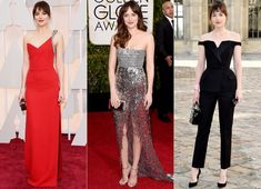 10 Times How to Be Single Star Dakota Johnson Slayed on the Red Carpet Uni Outfits, Basic Outfits, Sporty Outfits, Dress Outfits, Style Dakota Johnson, How To Be Single, Balenciaga Dress, Toronto Film Festival, Red Carpet Gowns