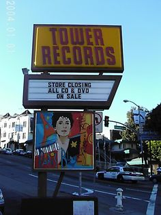I love record store Sunset Strip, We Are Young, Music Store, Tower Records, Diners, Great Memories, Aesthetic Iphone Wallpaper, Peacocks, My Favorite Music