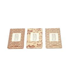 Dandelion Chocolate bars packaging | metallic copper