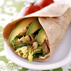 Chicken and Chile Wraps Recipe | Weight Watchers