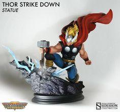 Marvel Statue Thor Strike Down 38 cm, Bowen Designs, Banda Desenhada