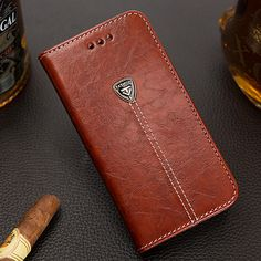 Luxury Leather Flip Wallet Case for Samsung Galaxy S5 S6 S7 edge J3 J5 & iPhone 5s 6 6s PU Leather Mobile Phone Bags Case Cover | iPhone Covers Online
