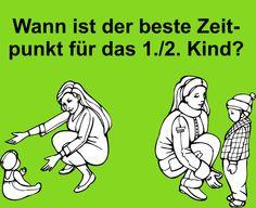 Bild zum Blogeintrag Der beste Zeitpunkt für Kinder auf http://www.tipptrick.com/2013/07/08/claudias-praktischer-ratgeber-für-eltern/