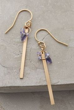 Lulu Hanover Matchstick Earrings #anthrofave #anthropologie