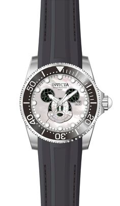 Disney Limited Edition Men's Automatic Stainless Steel Case, White, Black Dial - 22748 | Default Store View