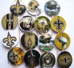 Hey, I found this really awesome Etsy listing at http://www.etsy.com/listing/158406922/15-new-orleans-saints-football-party