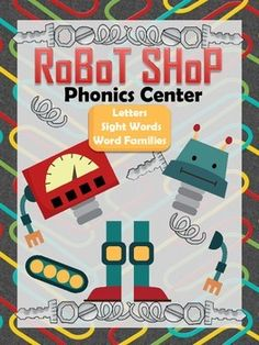 Robot Shop Phonics Center