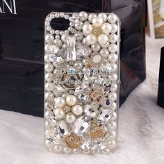 DIY jeweled iPhone case