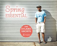 Ryland shorts- stone  Spring Essential