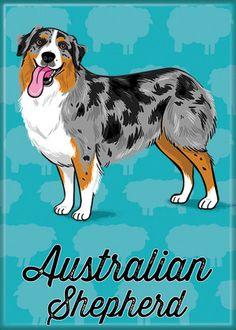 Magnet: Australian Shepherd