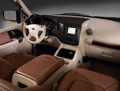 2003 Ford Expedition custom interior