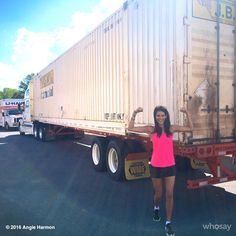 "Angie Harmon's image - ""Operation Move Home COMPLETE!! (7 years), 20 days, 2,418.6 miles, & 4 HUGE SMILES... #blessed #grateful #FAE #MommysHome THANK YOU @momo71ny"" on WhoSay"
