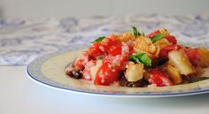 Ensalada de quinoa, tomate y pera - http://www.bezzia.com/ensalada-de-quinoa-tomate-y-pera/