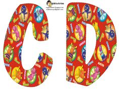 EUGENIA - KATIA ARTES - BLOG DE LETRAS PERSONALIZADAS E ALGUMAS COISINHAS: Alfabeto BACKYARDIGANS