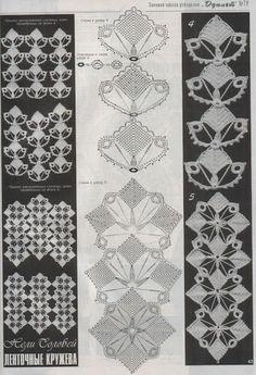 crochet diagrams -element