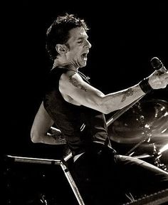 Dave Gahan of Depeche Mode - Touring the Angel 2005/06
